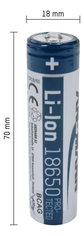 Li-Ion Akku 18650 2600 mAh