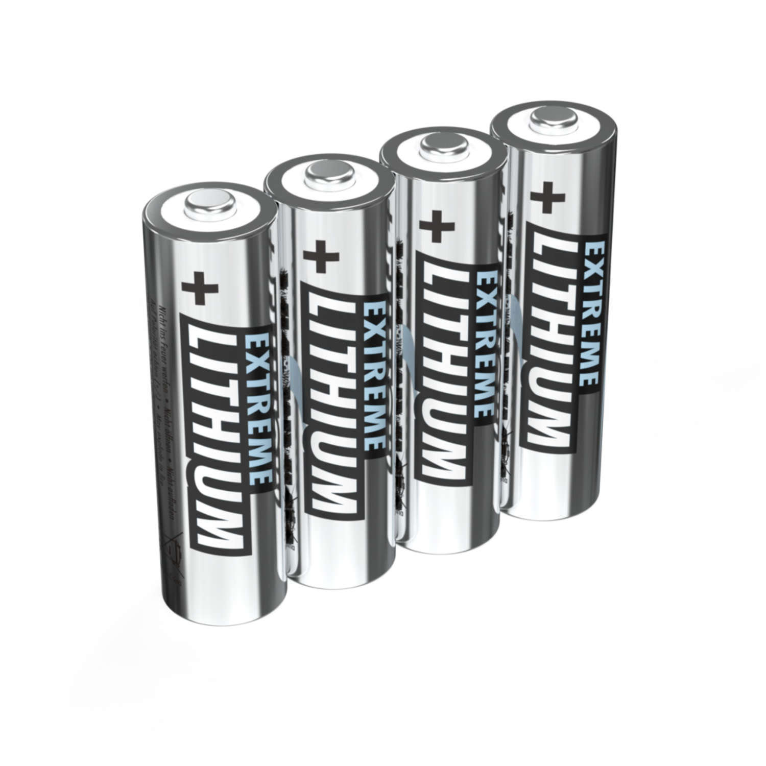 Lithium Battery AA / FR6 4 pcs. blister packaging