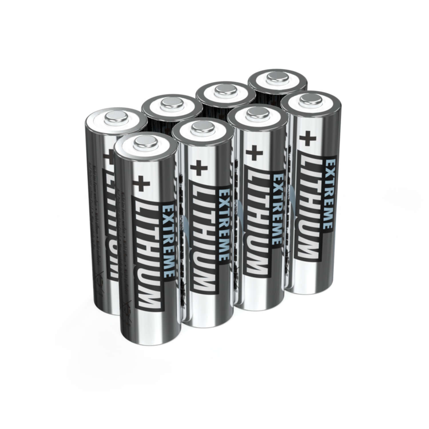 Lithium Battery AA / FR6 8 pcs. blister packaging