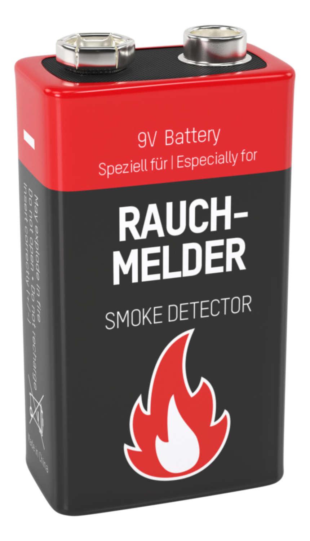 Alkaline Battery E / 6LR61 2 pcs. blister packaging