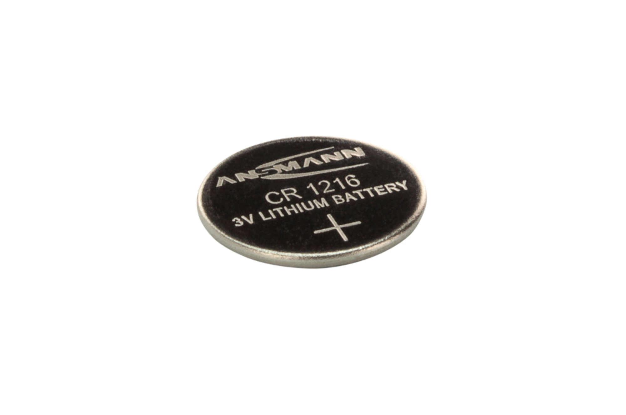 Lithium Knopfzelle CR1216