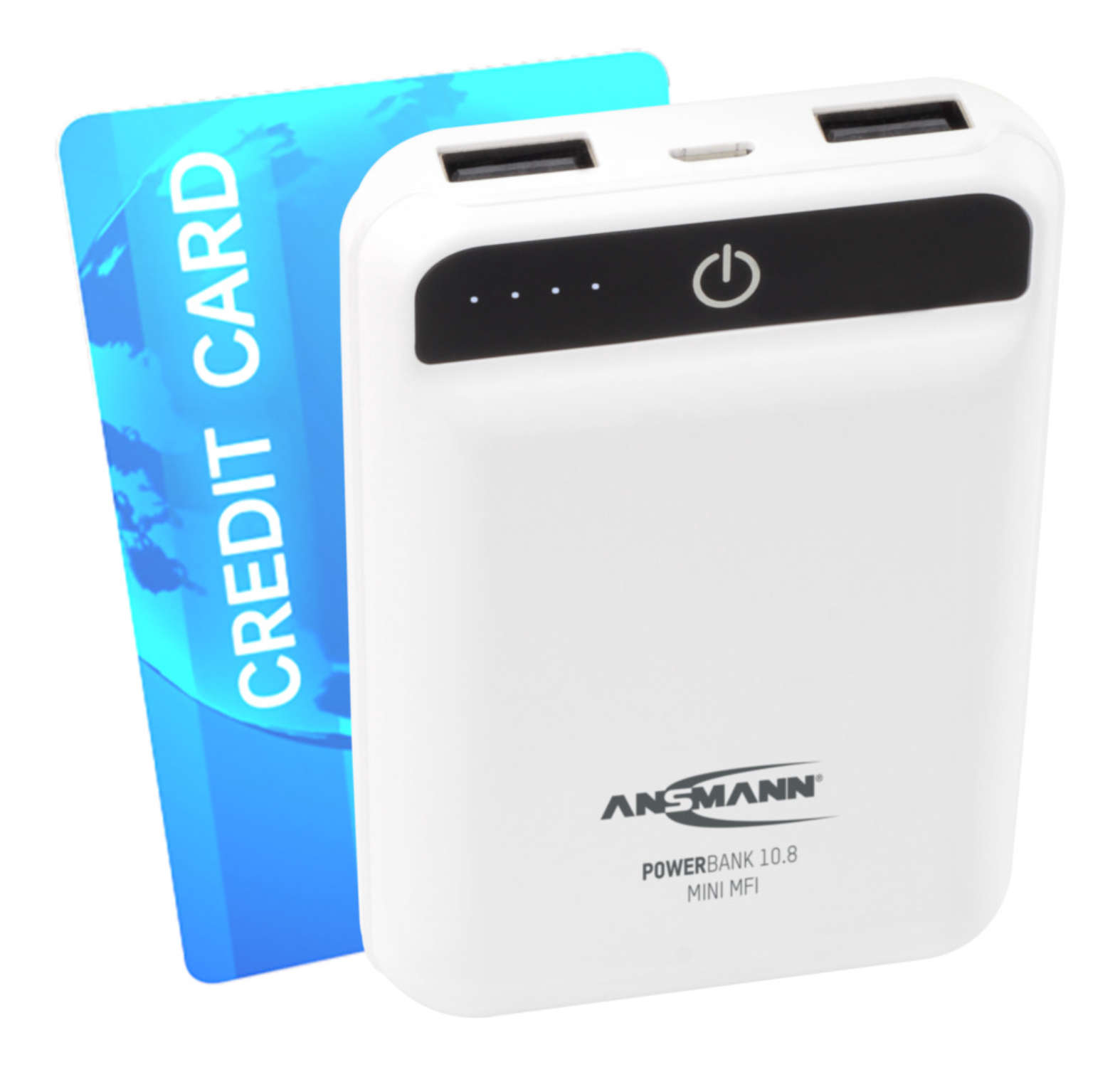 Powerbank 10.8 mini white