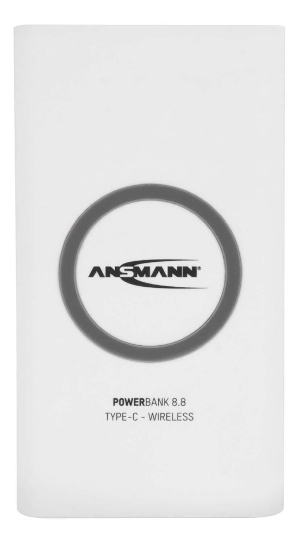 Powerbank 8.8 Type C - Wireless
