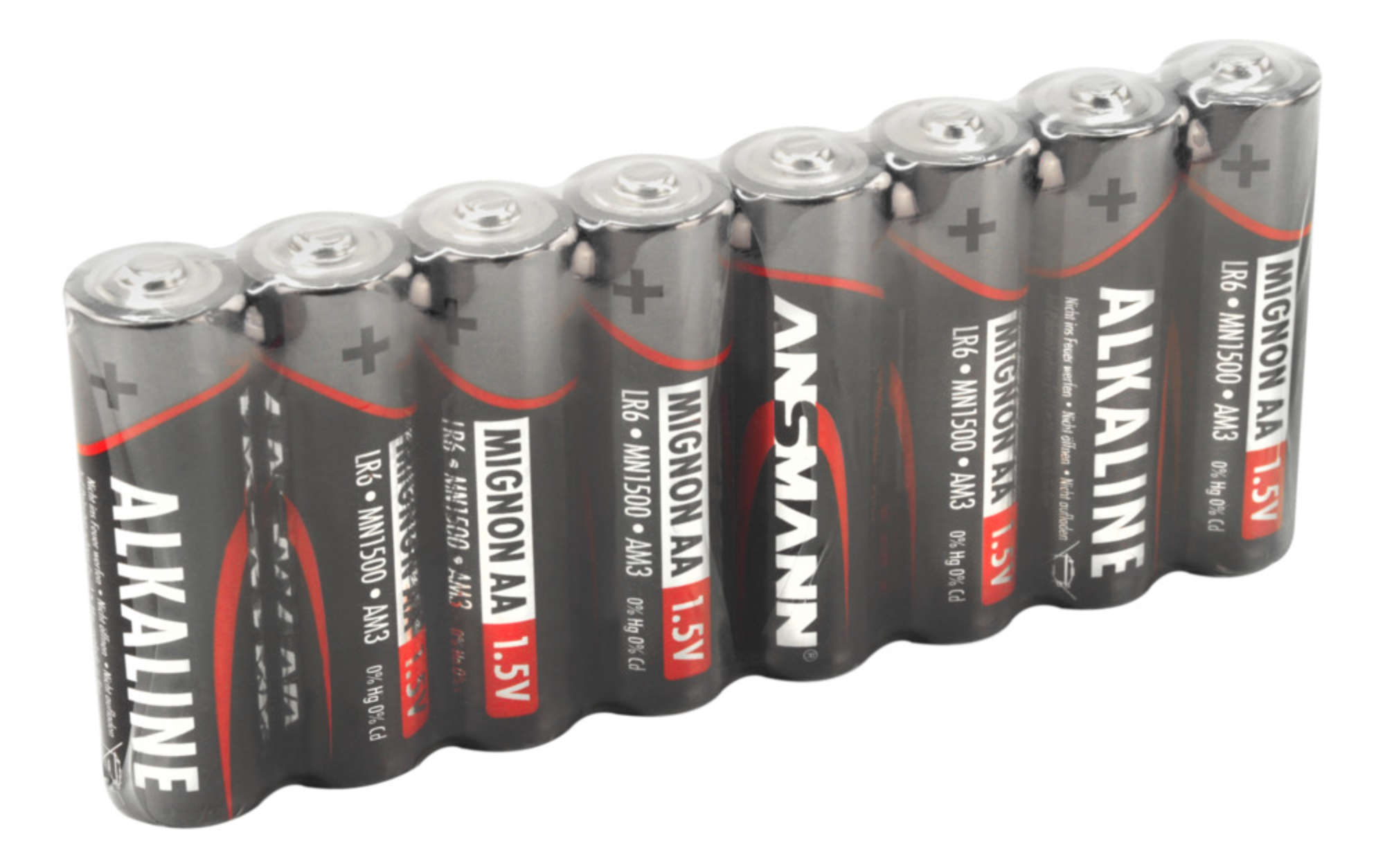 Alkaline Battery AA / LR6 8 pcs. shrink