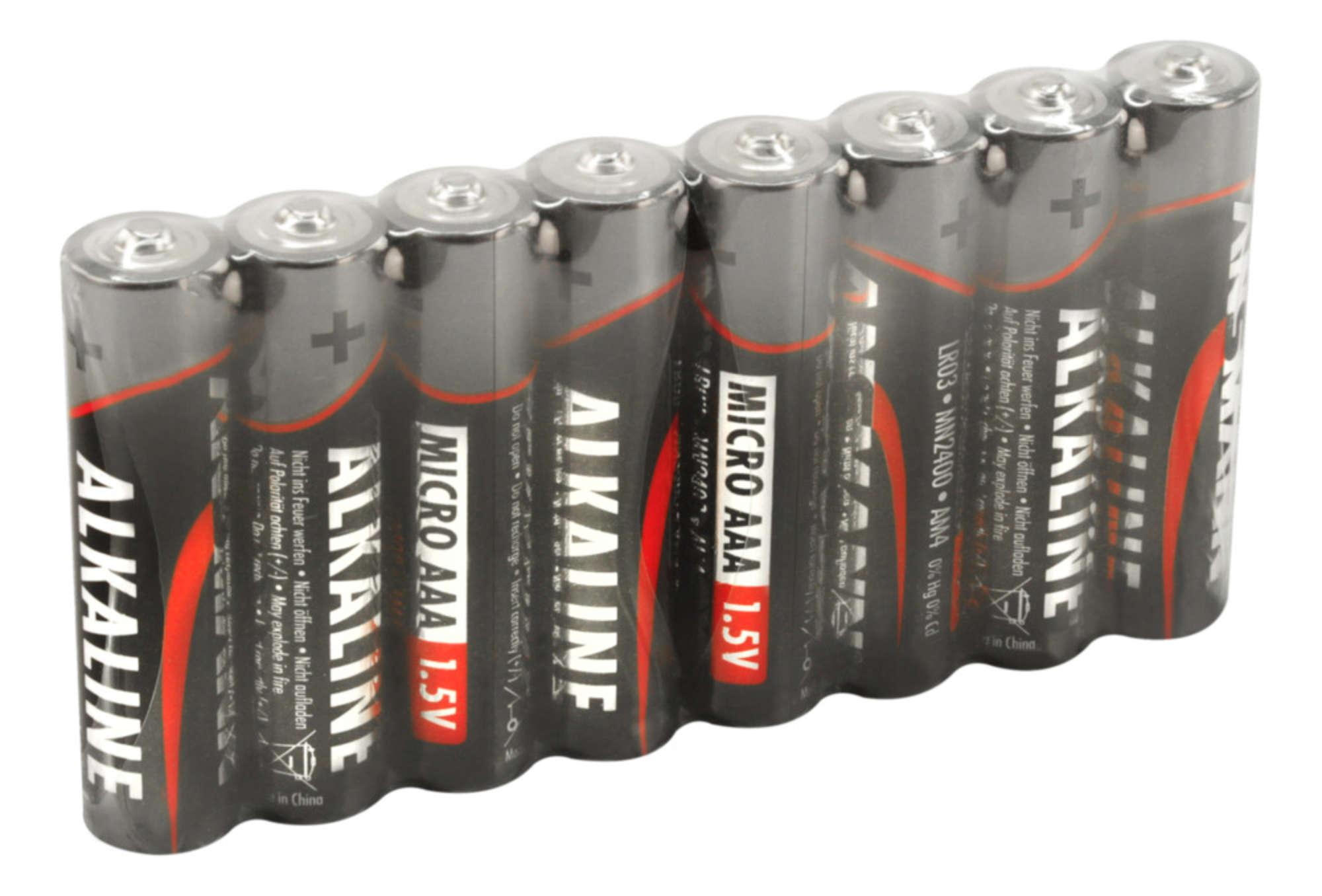 Alkaline Battery AAA / LR03 8 pcs. shrink