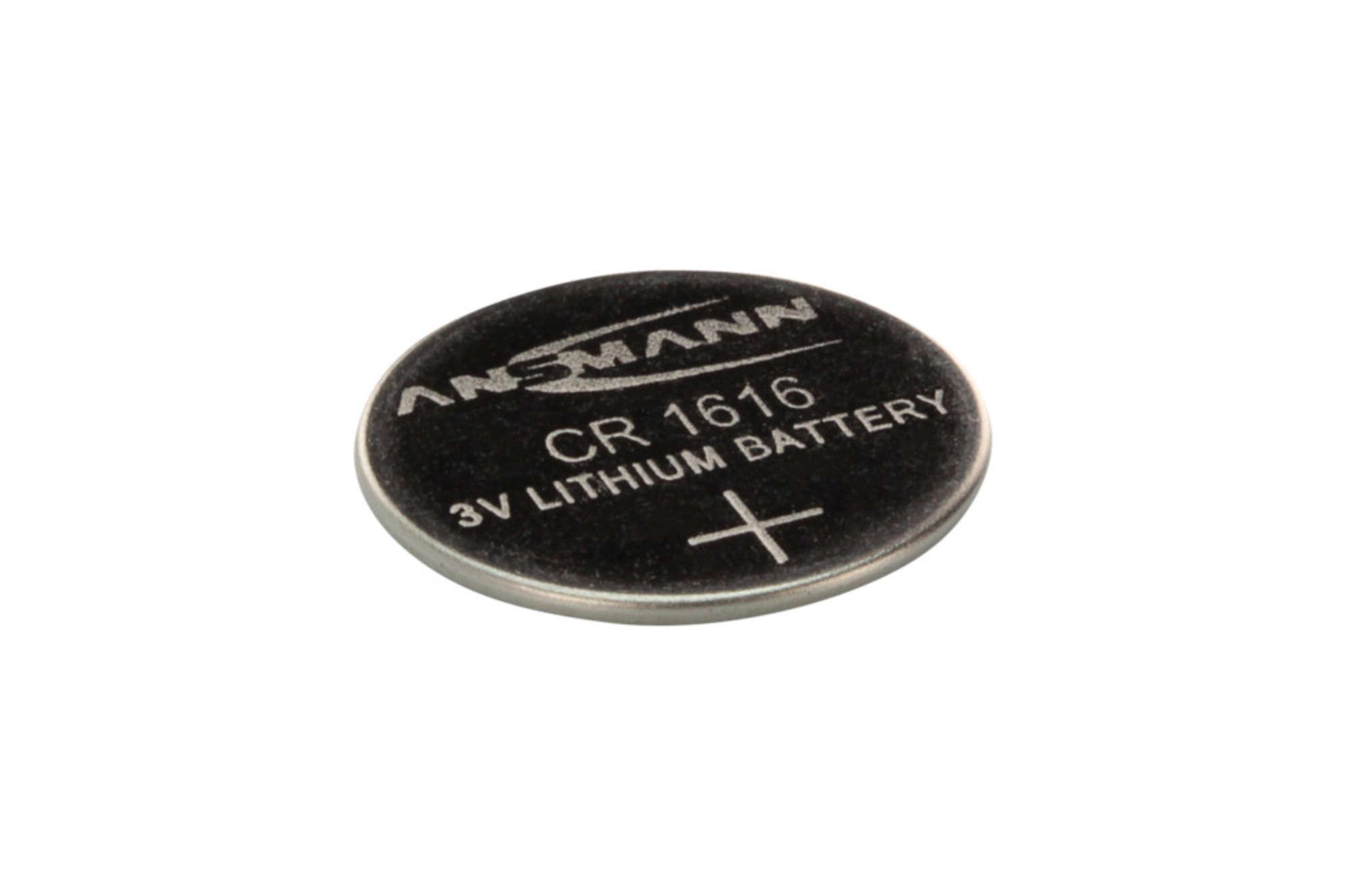 Lithium Knopfzelle CR1616