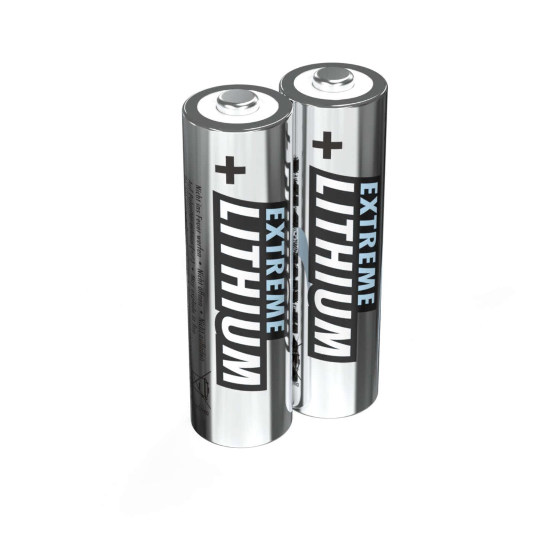 Lithium Battery AA / FR6 2 pcs. blister packaging