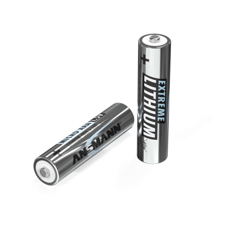 Lithium Batterie Micro AAA / FR03 2er Blister