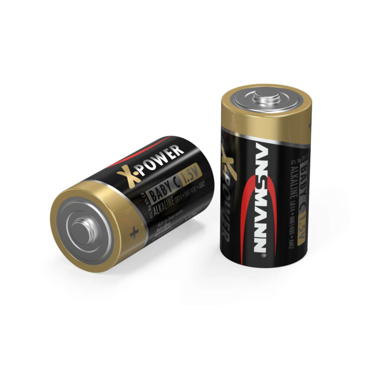 X-Power Alkaline Battery C / LR14 2 pcs. blister packaging