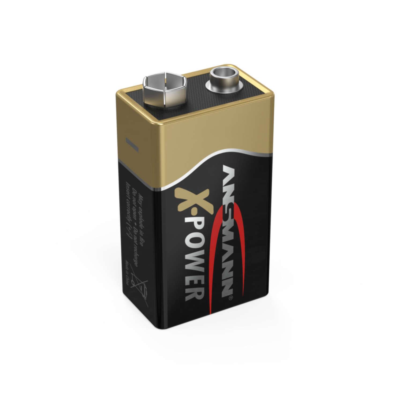 X-Power Alkaline Batterie Block E / 6LR61 1er Blister