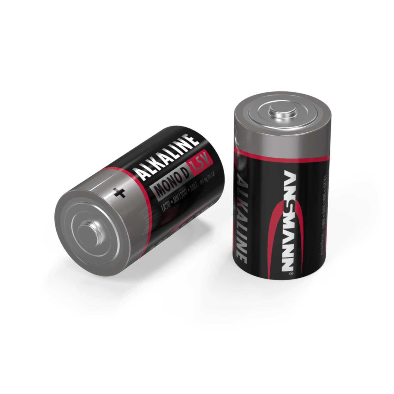 Alkaline Batterie Mono D / LR20 4er Schrumpffolie