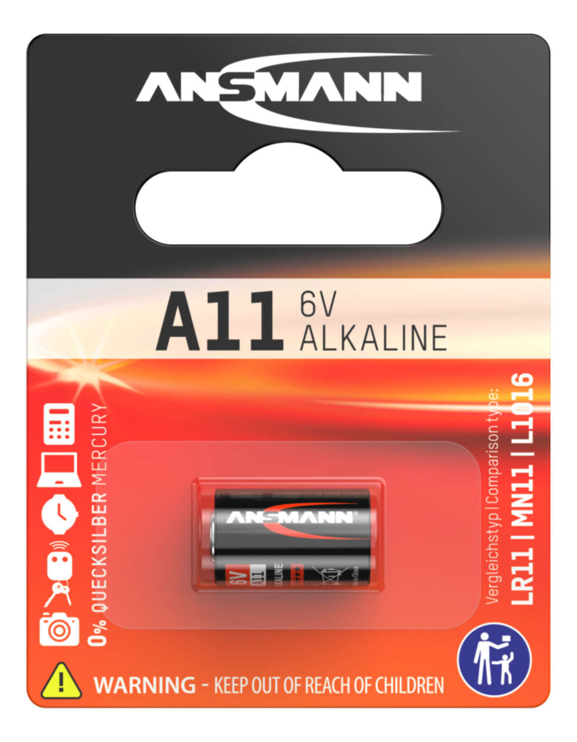Alkaline Battery A11 / LR11