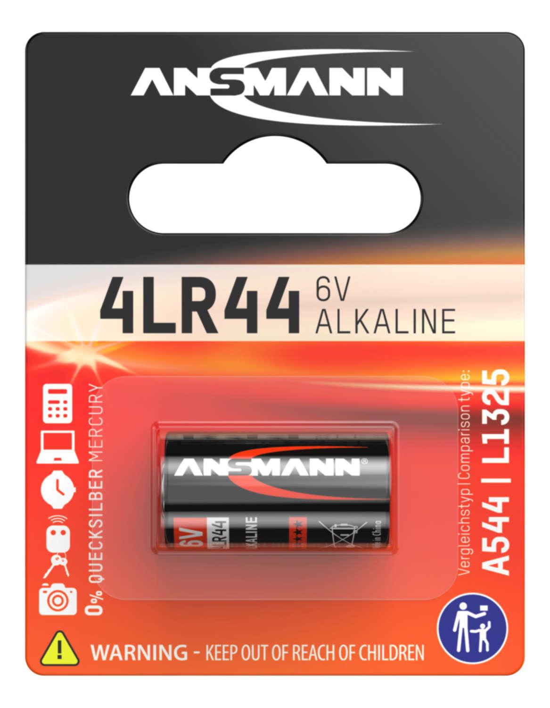 Alkaline Coin cell 4LR44