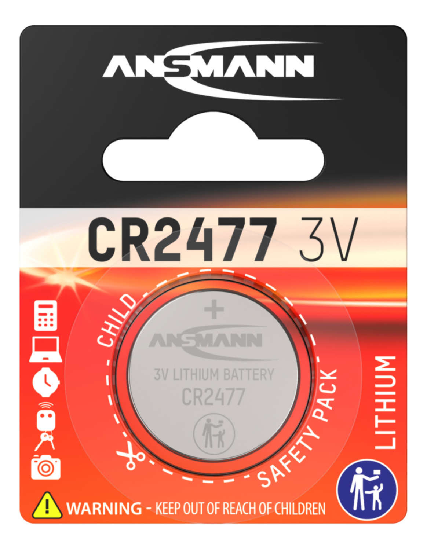 Lithium Knopfzelle CR2477