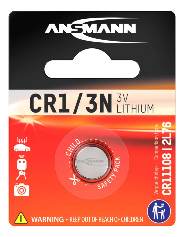 Lithium Batterie CR1/3N / CR11108 / 2L76