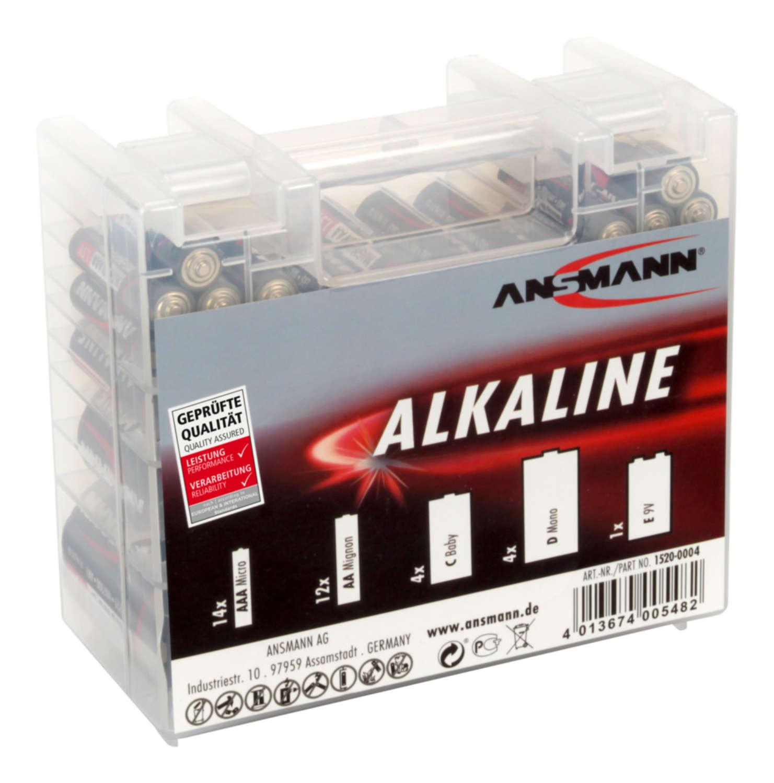 Alkaline Batterie  35 pcs. Box
