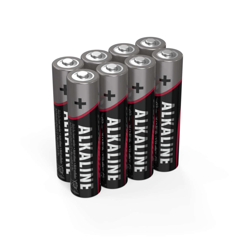 Alkaline Batterie Micro AAA / LR03 8er Schrumpffolie
