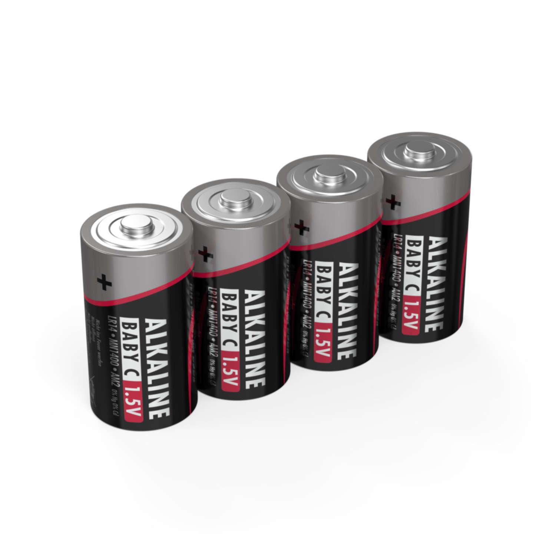 Alkaline Batterie Baby C / LR14 4er Schrumpffolie