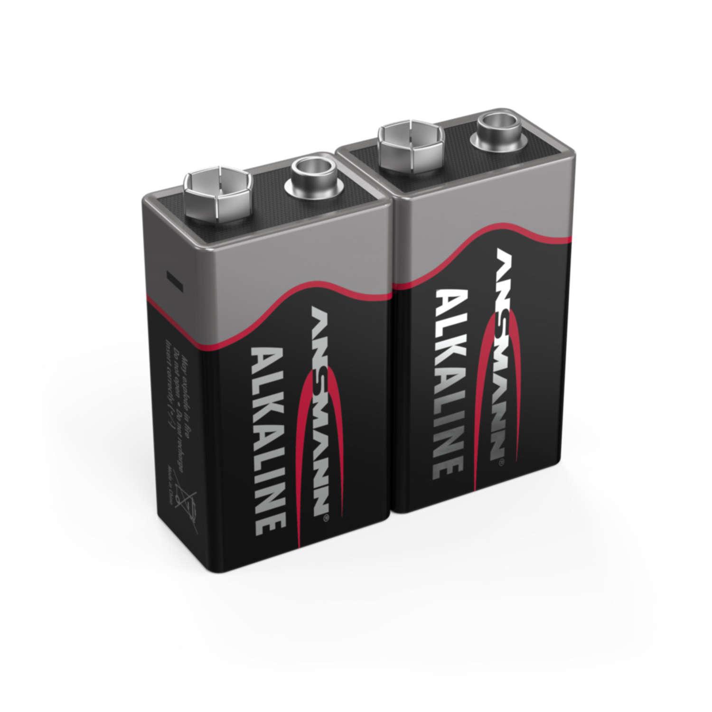 Alkaline Battery E / 6LR61 2 pcs. shrink