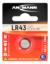 Alkaline Coin cell LR43 / LR1142 / AG12
