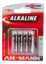 Alkaline Battery AAA / LR03 4 pcs. blister packaging
