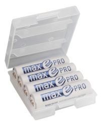 NiMH Rechargeable battery AA / HR6 Typ 2000 (min. 1900 mAh) maxE Pro 4er box