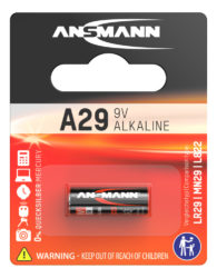 alkaliset Batterie A29 / LR29