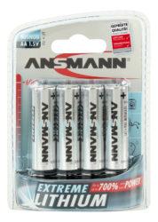 Lithium Batterie Mignon AA / FR6 4er Blister