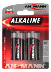 Alkaline Battery C / LR14 2 pcs. blister packaging