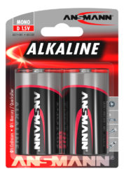 Alkaline Battery D / LR20 2 pcs. blister packaging