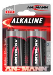 Alkaline Batterie Mono D / LR20 2er Blister