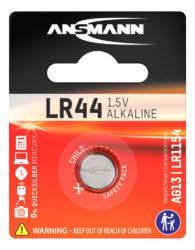 alkaliset Knopfzelle LR44 / LR1154 / AG13