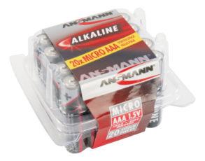 Alkaline Batterie Micro AAA / LR03 20er Box