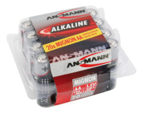 Alkaline Battery AA / LR6 20 pcs. box