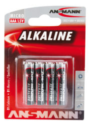 alcaline Batterie Micro AAA / LR03 4 pcs. emballage blister