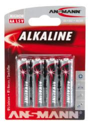 Alkaline Batterie Mignon AA / LR6 4er Blister