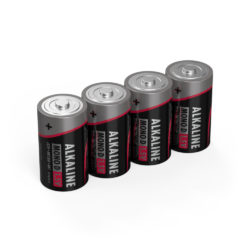 Alkaline Battery D / LR20 4 pcs. shrink