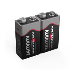Alkaline Battery E / 6LR61 2 pcs. shrink