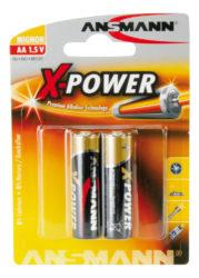 X-Power Alkaline Batterie Mignon AA / LR6 2er Blister