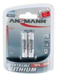 Lithium Battery AAA / FR03 2 pcs. blister packaging