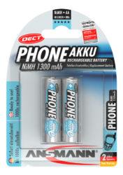 Dect NiMH Pile rechargeable Mignon AA 1300 mAh maxE 2 pcs.