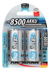 NiMH Akku Mono D 8500 mAh maxE 2er Blister
