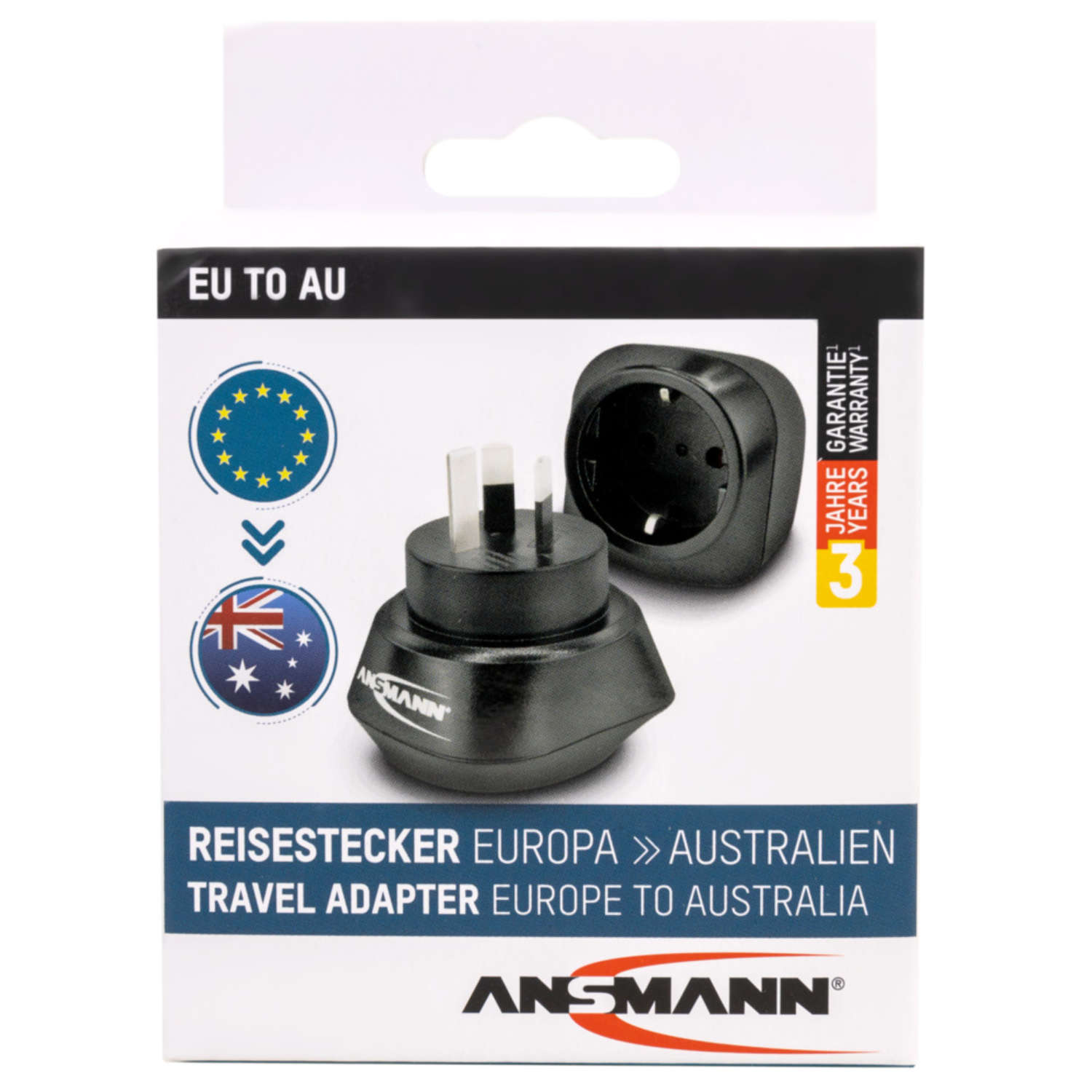"Reisestecker ""EU to AU"""