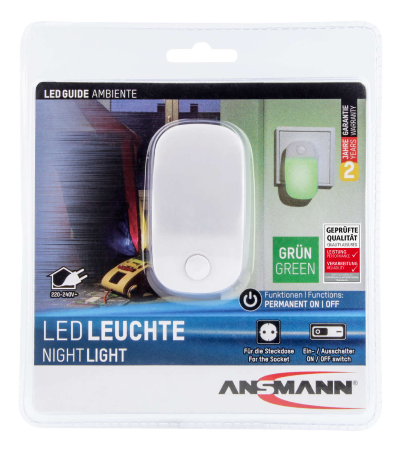 LED Guide AMBIENTE green