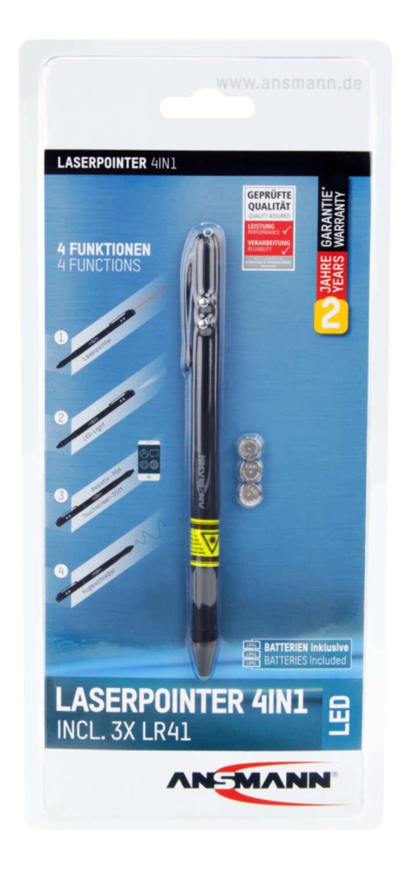 Laserpointer 4in1