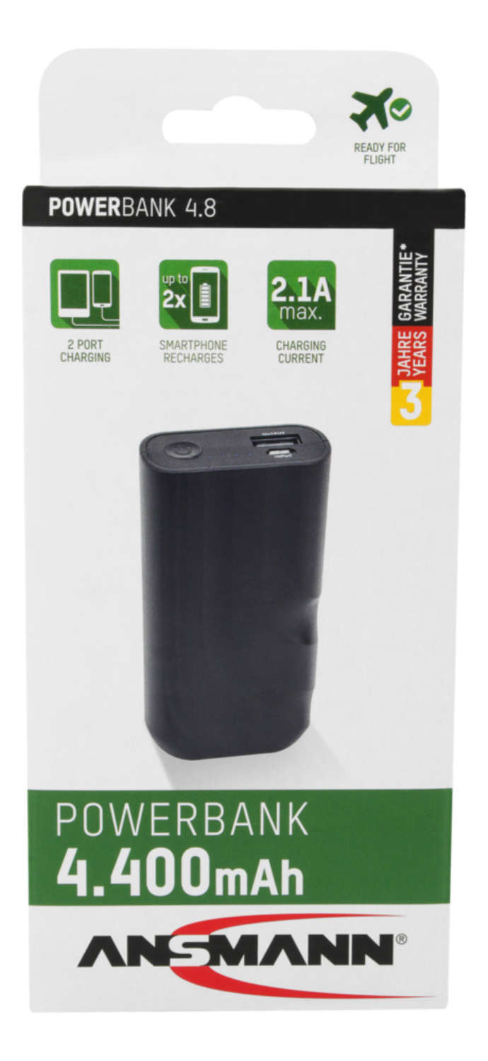 Powerbank 4.8