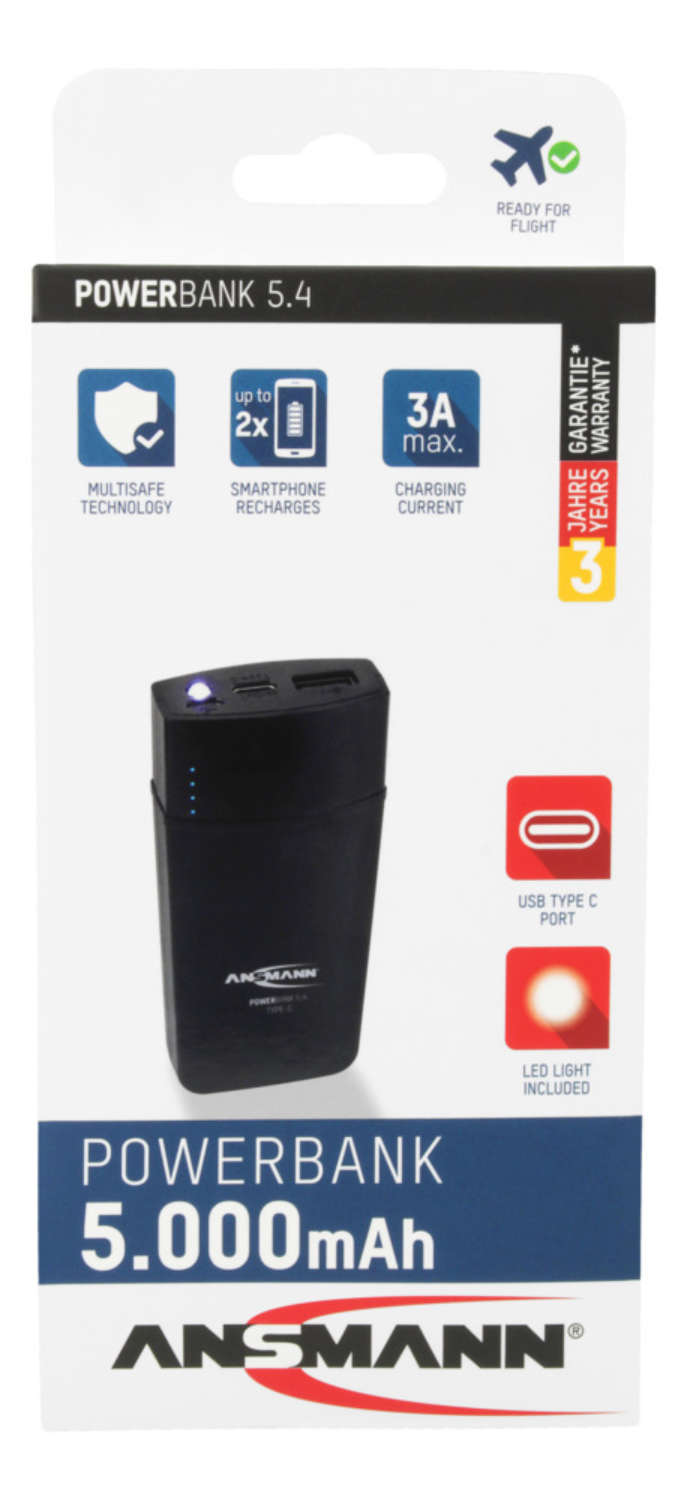 Powerbank 5.4 Type C