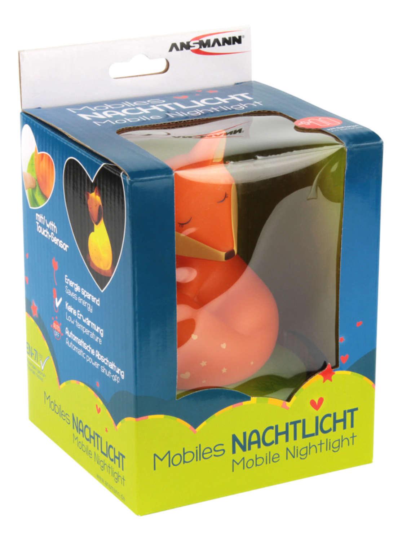 Mobiles Nachtlicht Fuchs