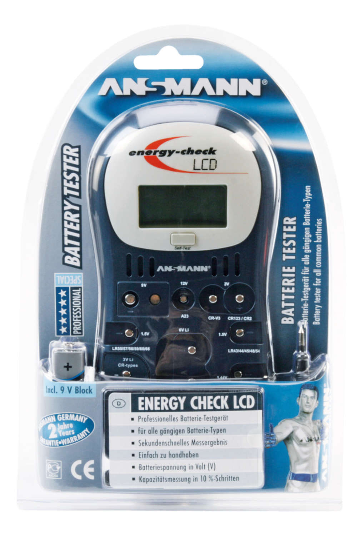 Testgerät Energy Check LCD