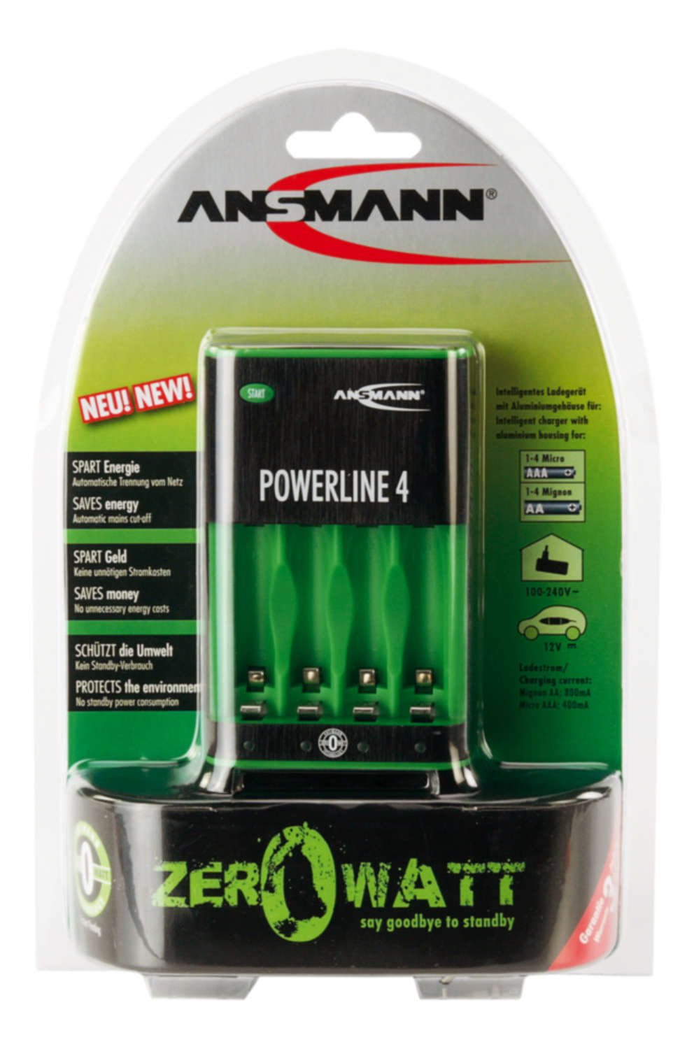 Powerline 4 Zero Watt